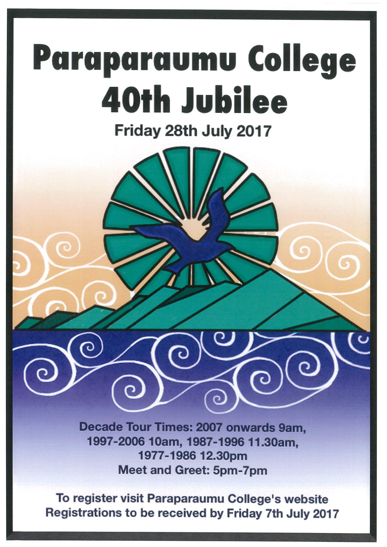 40th Jubilee – Friday 28 July